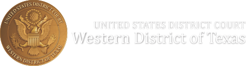 U S  District Court – Western District of Texas